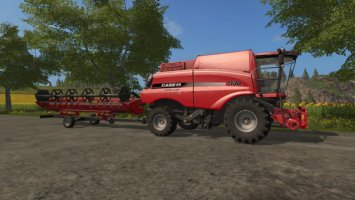 Case Axial Flow 7130 - Attacher joint for trailer fs17