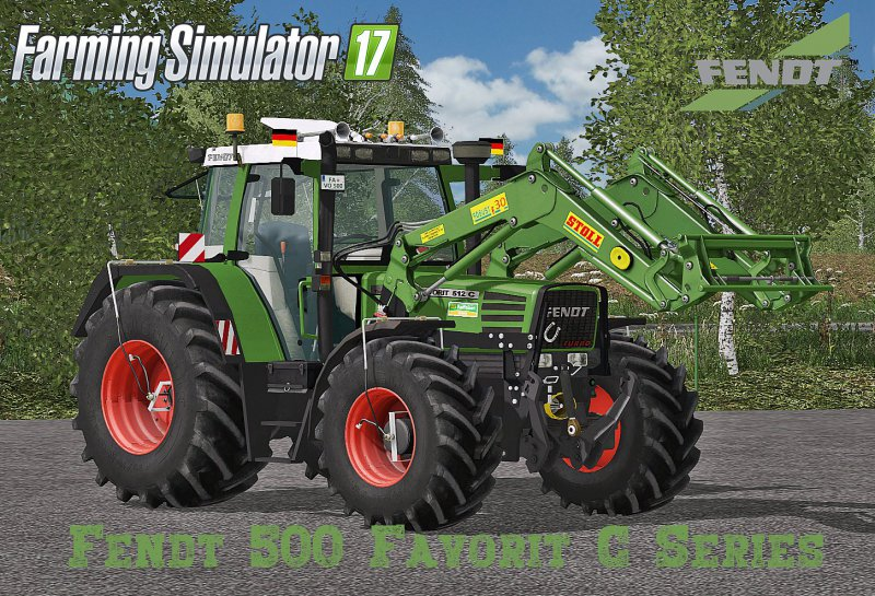 Fendt 500 Favorit C Series Final FS17