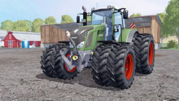 FENDT 828 VARIO TWIN WHEELS ls15