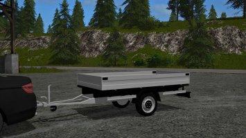Humbaur 1-axle trailer v1.1 fs17