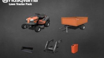 Husqvarna lawn tractor pack