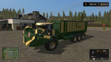 Krone Big ZX550GD mower fs17
