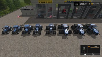 New Holland Tractor pack update by Stevie fs17