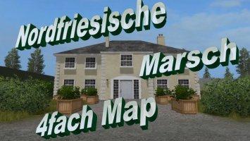 Nordfriesische Marsch 4fach map v2.1 fs17