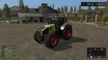 Claas Axion 900 usa fs17