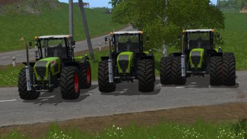 Claas Xerion 3000 Series fs17