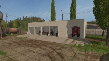 Concrete Garage fs17