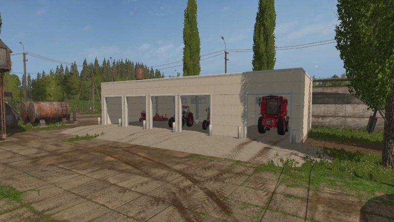 Beton Garage Prefab : Betongarage fs mod mod for landwirtschafts simulator ls