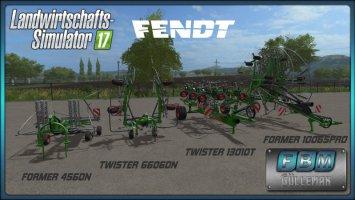 Fendt Twister 6606DN/13010T Fendt Former 456DN/10065Pro DH  [FBM Team] fs17