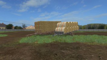 Hungarian Homemade Bale Trailer BETA fs17
