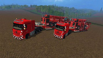 Mercedes Actros MP4 SLT fs17