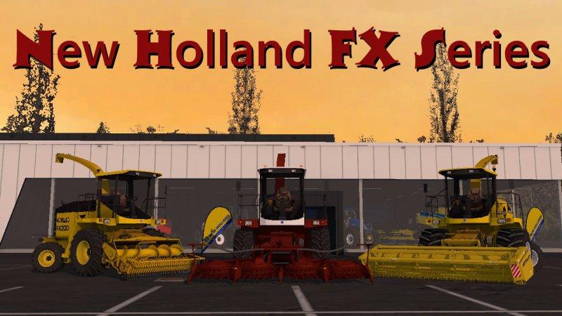 New Holland FX series FS17