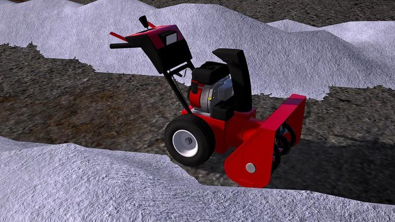 Snow blower MTD SMART ME61 FS17