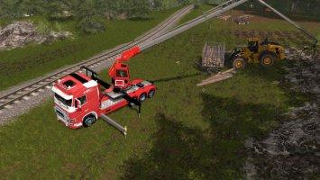 Volvo Fh16 750 Logging fs17