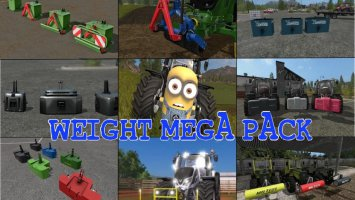 WEIGHT MEGA PACK fs17