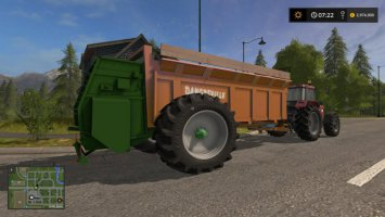 Dangreville manure spreader fs17