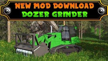Dozer Grinder - FDR Logging fs17
