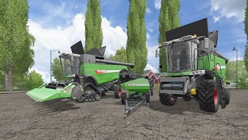 [FBM Team] Fendt Harvester Pack MR / GB fs17