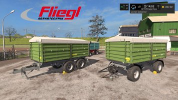 [FBM Team] Fliegl Trailer Set DH fs17