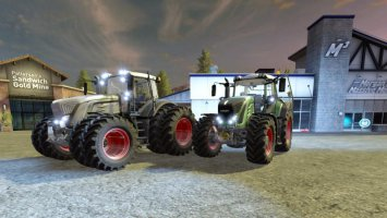 Fendt 900 Vario and Black Beauty v2.0 FS17