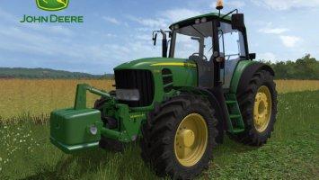 John Deere 7030 E Premium Series + weight fs17