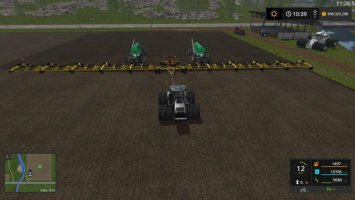 Lantmanen FS Zell's 214ft sowing rig fs17