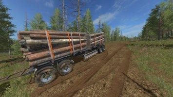 Log Trailer v1.1 fs17