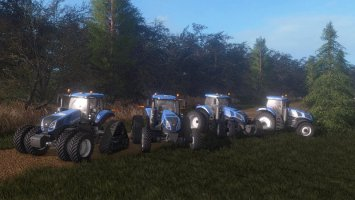 New Holland T8 fs17