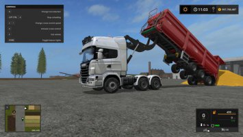 Scania R730 V8 Lifter v1.0 fs17