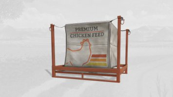 10K capacity bigBag Chicken Food