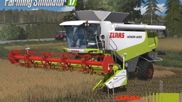 Claas Lexion 600 Full Pack fs17