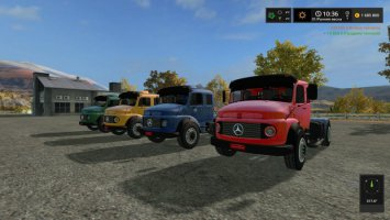 Мercedes Benz B1519 fs17