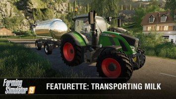 Farming Simulator 19 | Featurette: Transporting Milk news