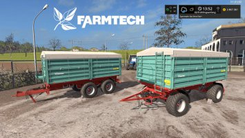 [FBM Team] Farmtech Trailer Set DH fs17