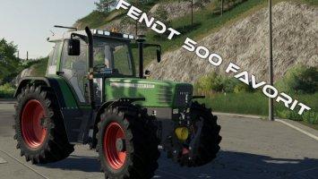 Fendt 500 Favorit fs19