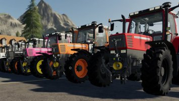 Fendt Favorit 500 with color choice