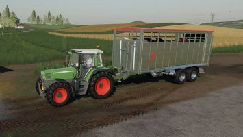 Fliegl animal trailer