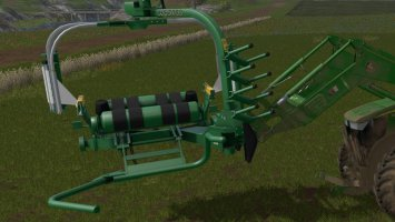 Front Load Bale Wrapper fs17