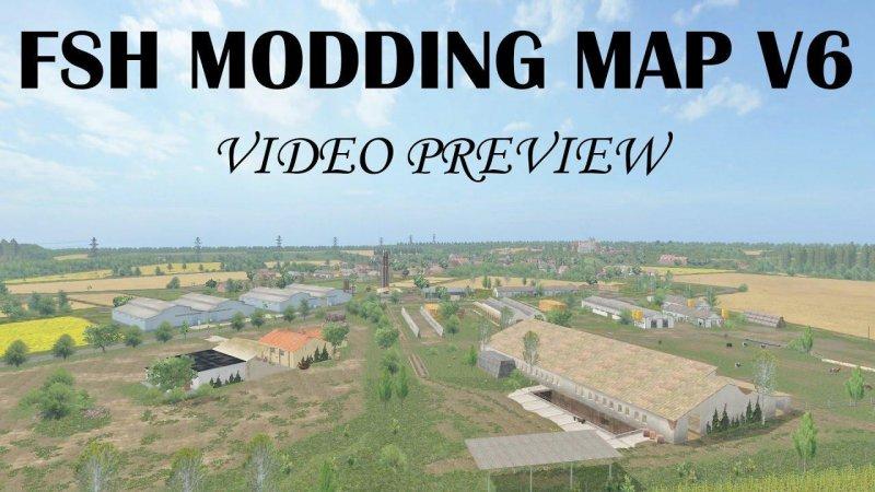 Fsh modding map v6.2 FS17