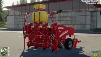 Grimme GL420 with fertilizer function