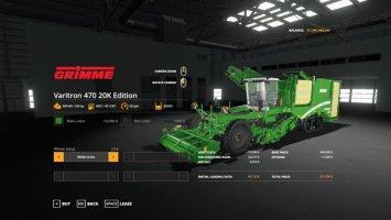Grimme Varitron 470 20K Edition