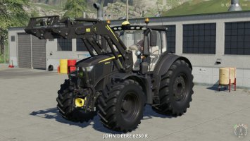 John Deere 6R Black Edition v1.0.1