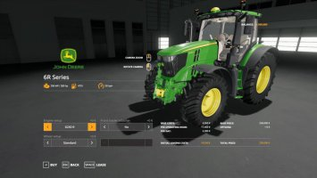 John Deere 6R with SeatCam