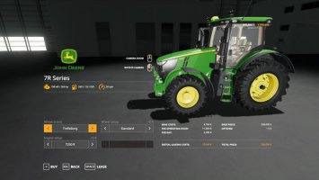 John Deere 7R with SeatCam