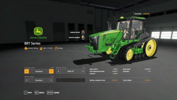 John Deere 8RT with SeatCam