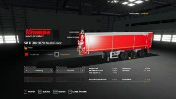 Krampe SB3060 - MultiColor 150.000l