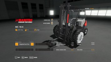 Manitou Forklift Duallies & Weighted Duallies