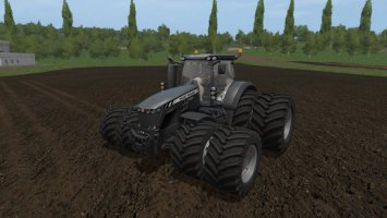 Massey Ferguson 8700 Red And Black fs17