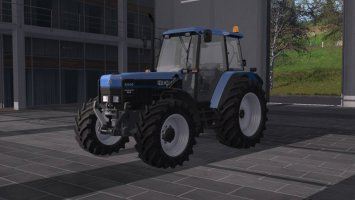 New Holland 8340 with DH fs17