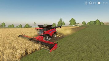 New Holland combine and header pack fs19